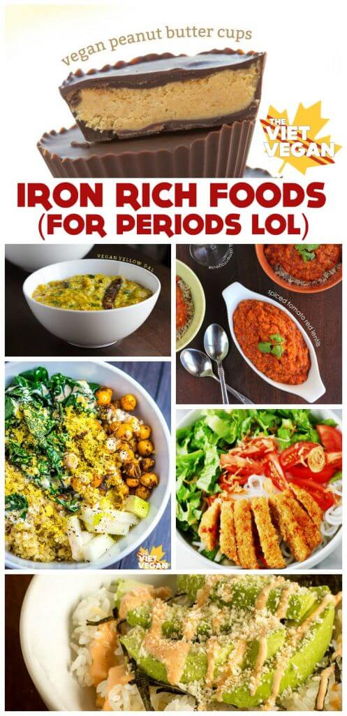 Iron-Rich Foods for When I'm on my Period… =P