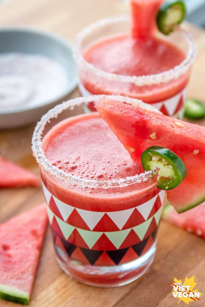 Spicy Watermelon Mocktails