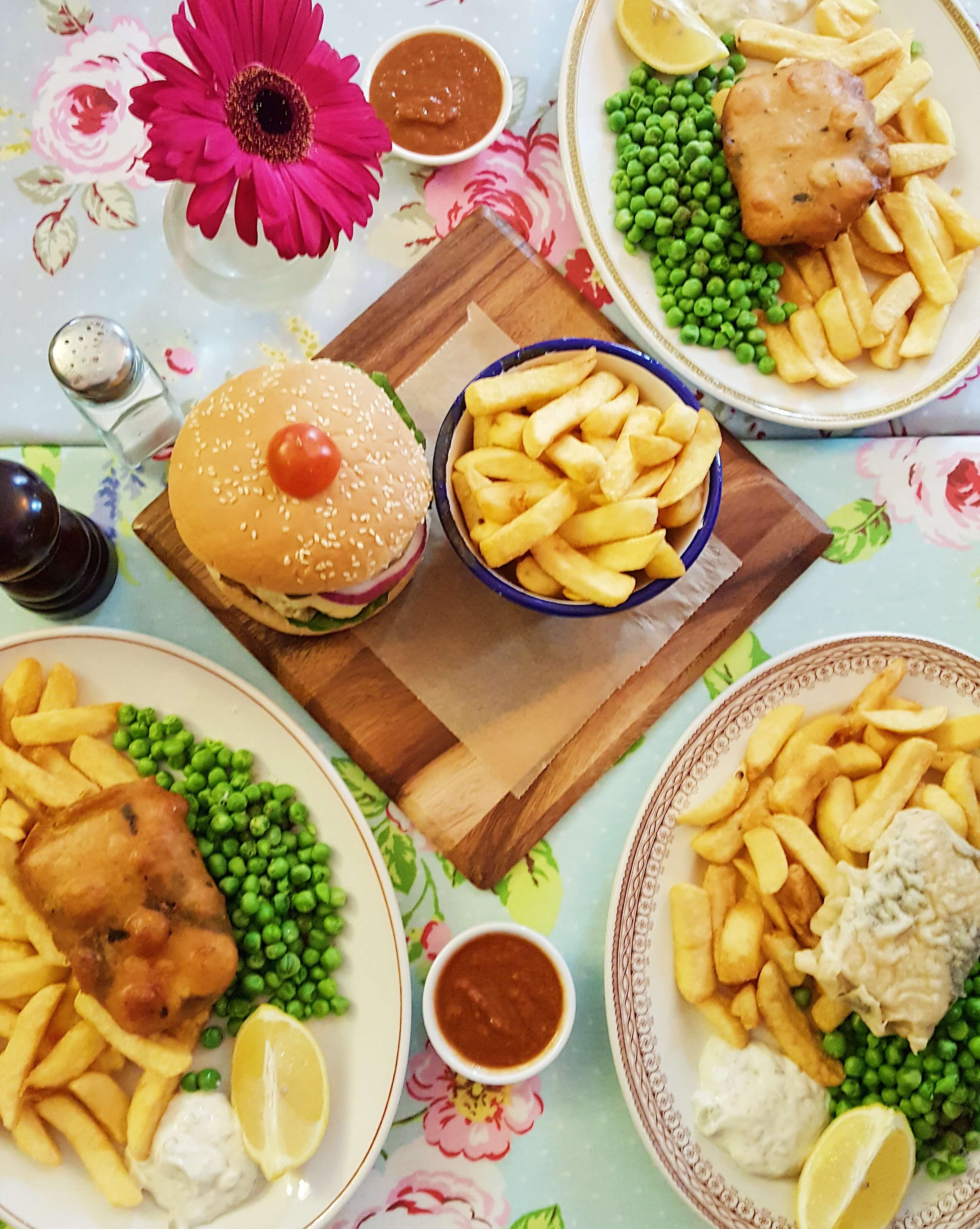 Vegan Fish and Chips in London
