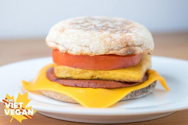Vegan Egg McMuffins aka Breakfast Sandwiches! | The Viet Vegan