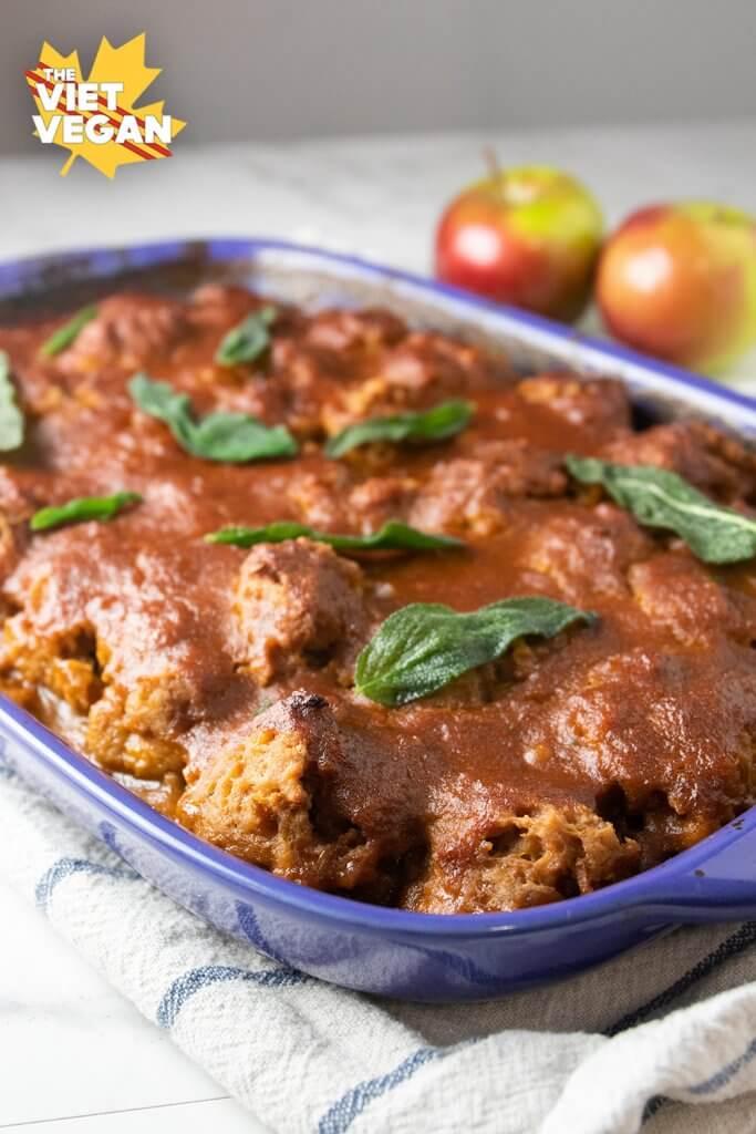 Vegan Apple Sage Meatballs | The Viet Vegan