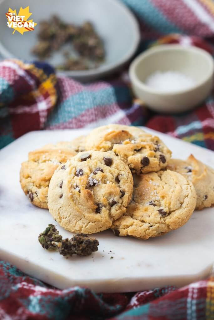 Vegan Cannabutter Cookies