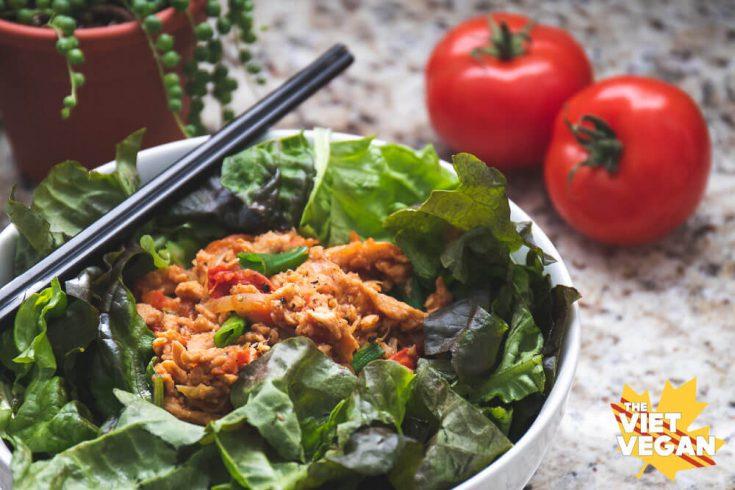 Vegan Tomato Stir Fry Salad – Salad tr?n cà chua