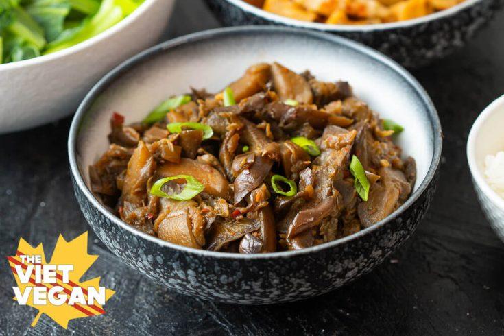 Vietnamese Braised Eggplant - Cà Tím Xào