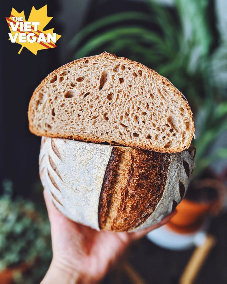 Vegan Sourdough Bread For Beginners