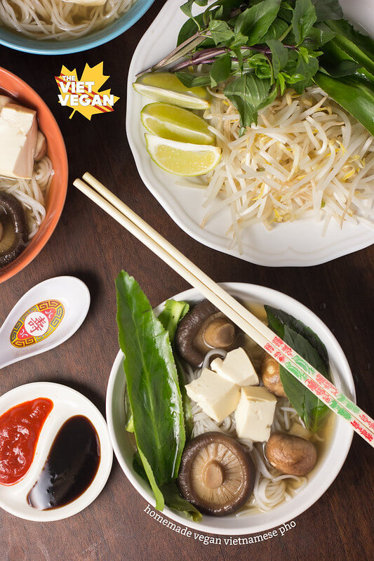 Homemade Vegan Vietnamese Pho