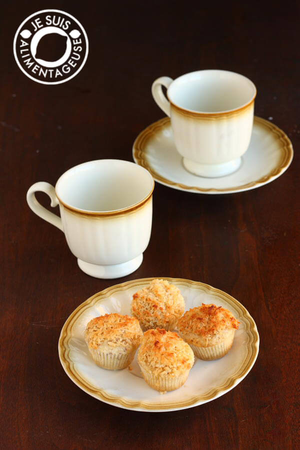 Coconut Brulee Cupcakes