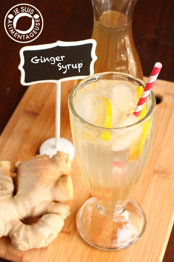 Ginger Syrup