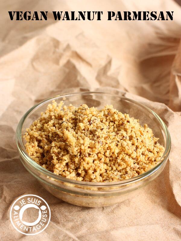 Vegan Walnut Parmesan