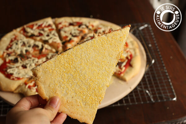 Vegan Pizza and the Secret to a Crispy Crust!