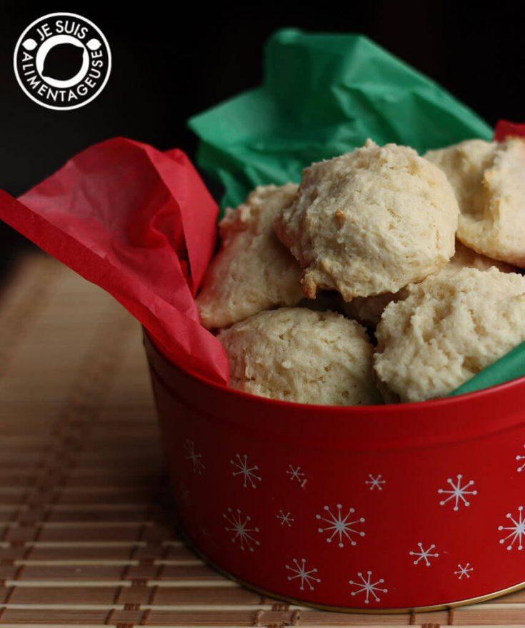 Sour Cream Softies #fbcookieswap