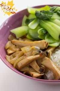 Meals for One & Recipe for King Oyster Mushrooms