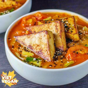 Vegan Spicy Lemongrass Soup