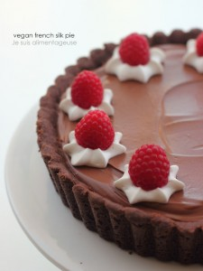 Vegan French Silk Pie