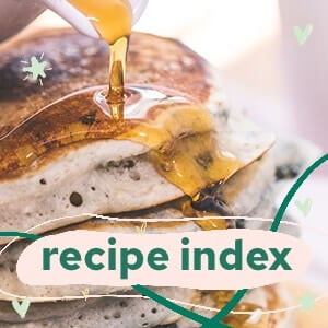 Recipe index sidebar