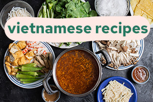 Vietnamese recipe index button