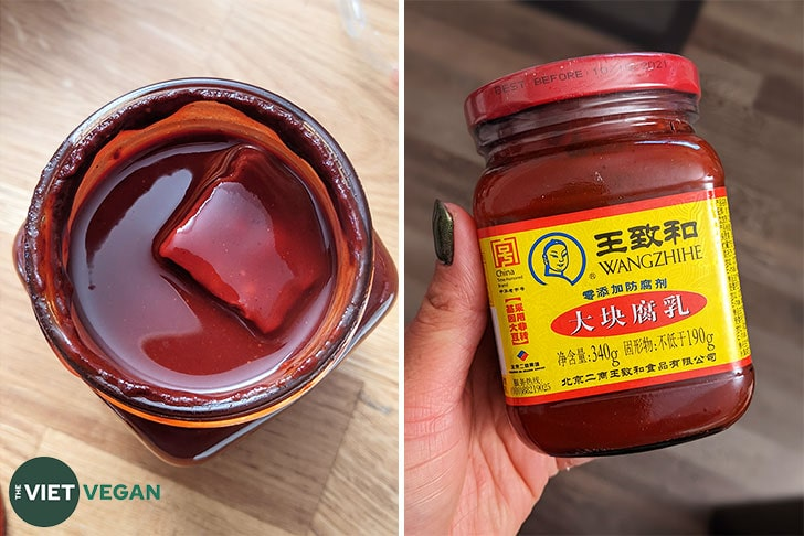 red refermented bean curd
