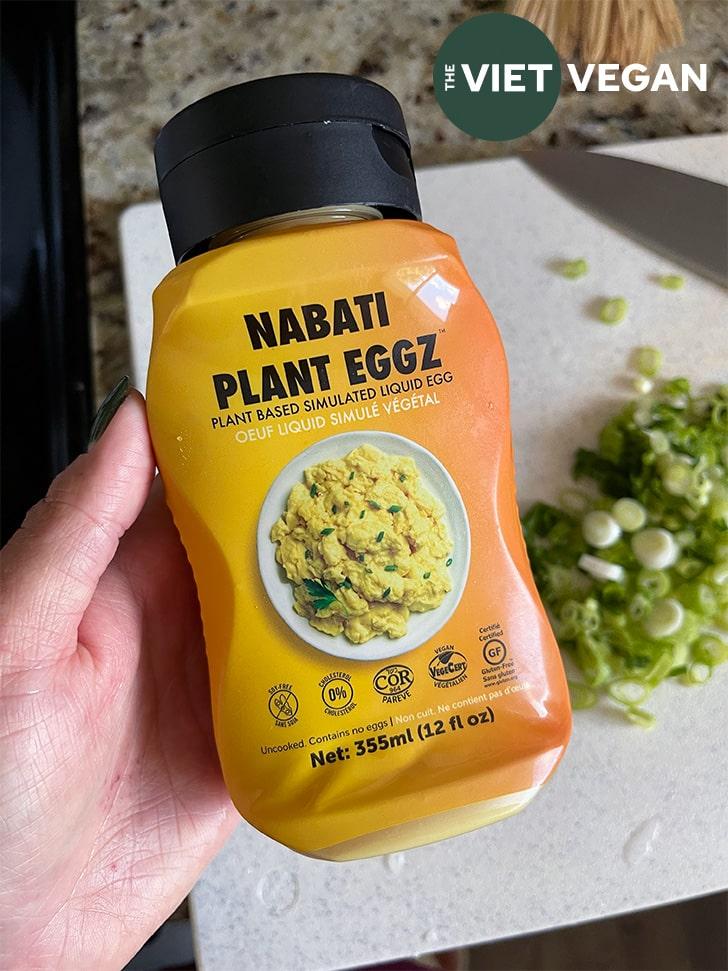 bottle of the Nabati Plant Eggz